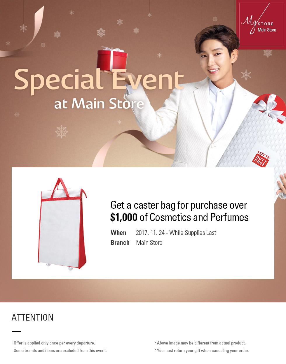 Special Event at Main Store EVENT