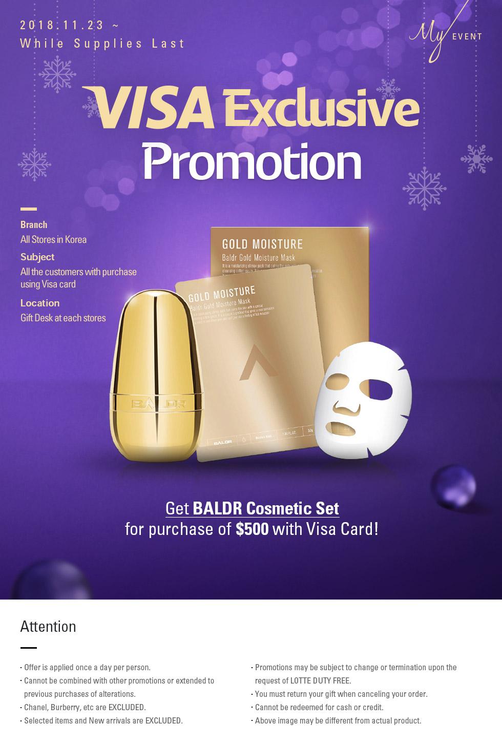 VISA Exclusive Promotion